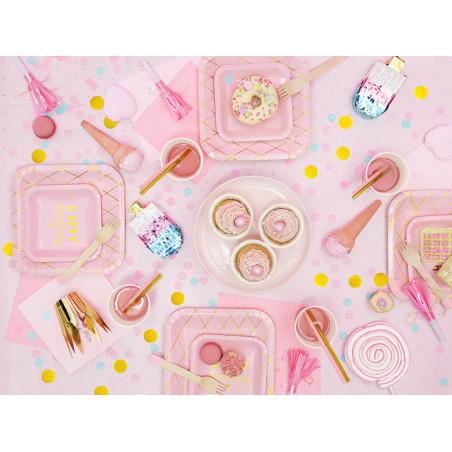 Szarfy na krzesło, j. złoty, 0,15 x 2,75m