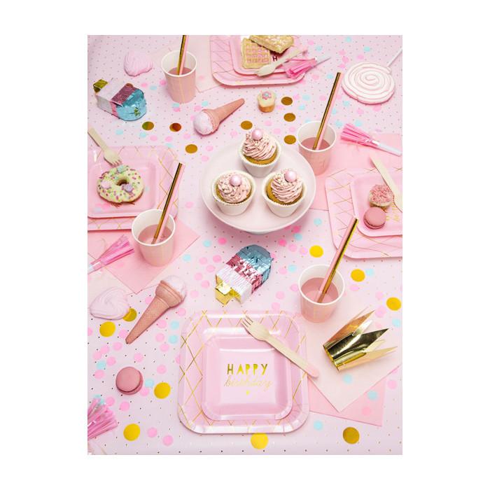 Świeczka urodzinowa Only One, j. różowy