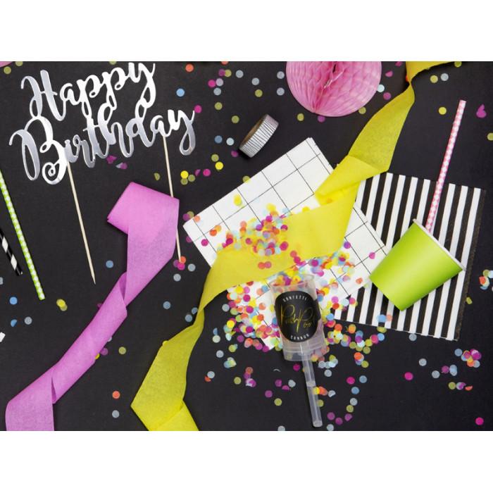 Świeczki urodzinowe Kolorowe Płomienie, mix