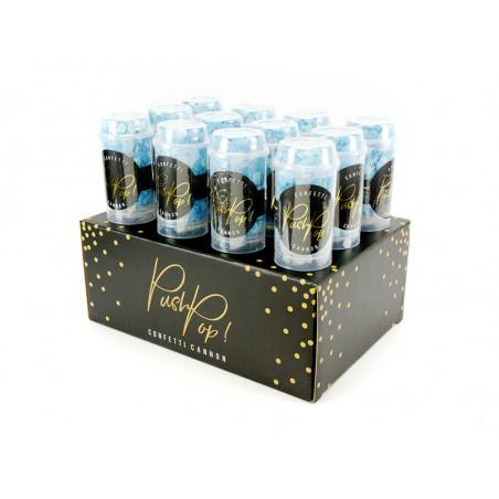 Świeczki urodzinowe Kropki i paski, mix