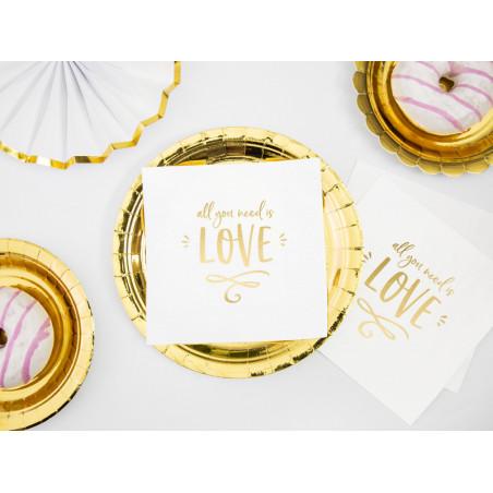 Konfetti metalizowane, liczba 30, 15g