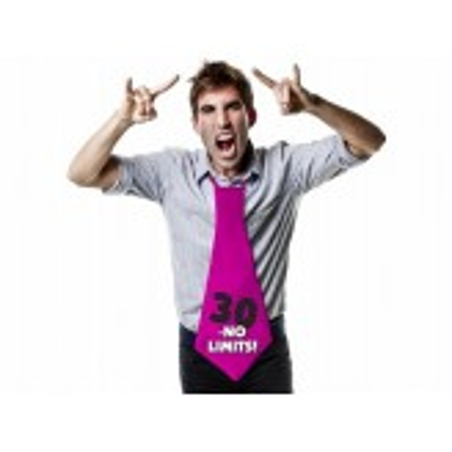 Krawat 30 - no limits!, 59cm