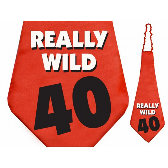 Krawat Really wild 40, 59cm