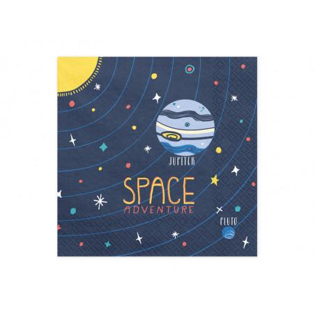 Konfetti Happy New Year, złoty, 4 x 2cm, 3g