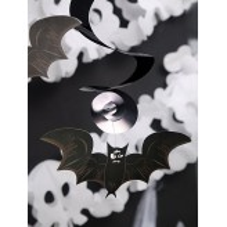 Świderki Nietoperze i czaszki, mix, 60cm