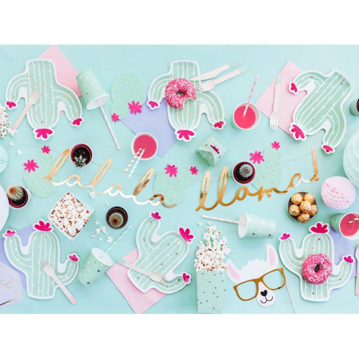 Kurtyna Party, niebieski, 90 x 250cm