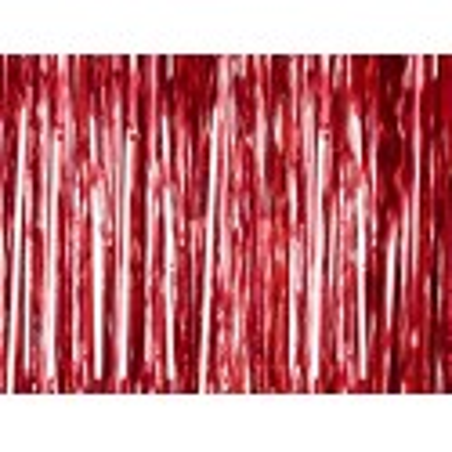 Kurtyna Party, czerwony, 90 x 250cm