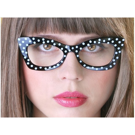 Okulary Black with White, czarny