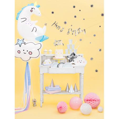 Okulary Serduszka, czerwony