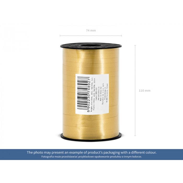 Lampion papierowy, błękit, 20cm