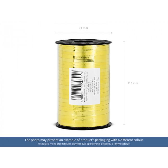 Lampion papierowy, pomarańczowy, 25cm