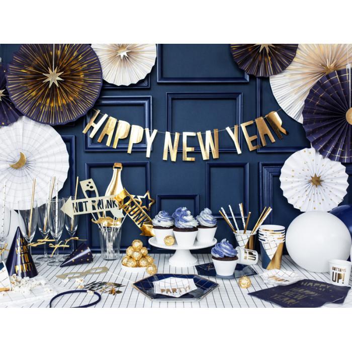Lampion papierowy, czerwony, 25cm