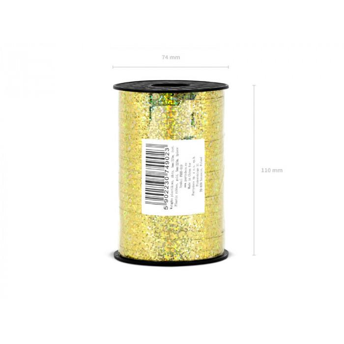 Lampion papierowy, błękit, 25cm