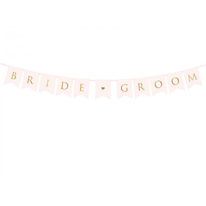 Pompon bibułowy, szary, 25cm