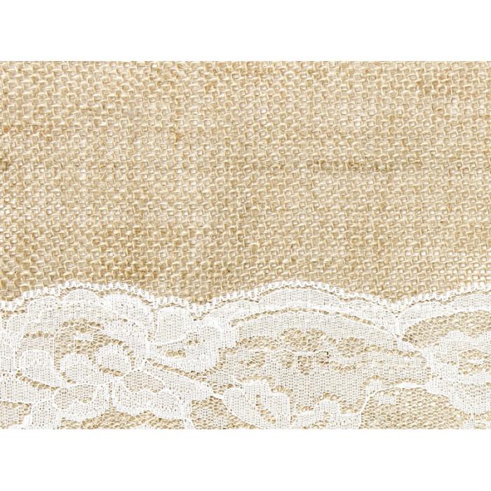 Pompon bibułowy, błękit, 35cm