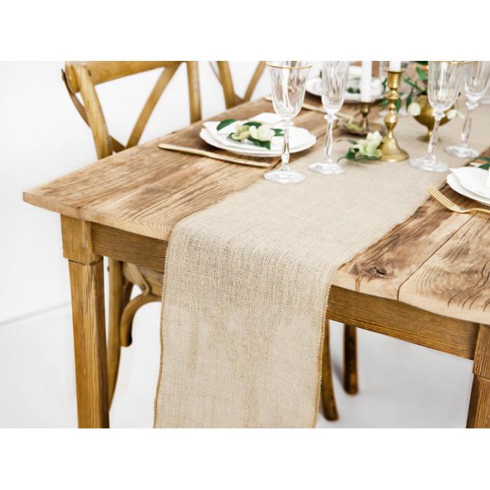 Pompon bibułowy, kremowy, 35cm