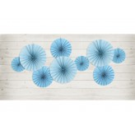 Rozety dekoracyjne, niebieski