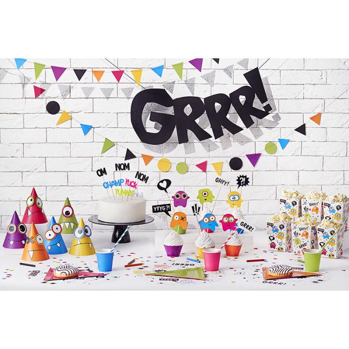 Rozety dekoracyjne, zielone jabłuszko