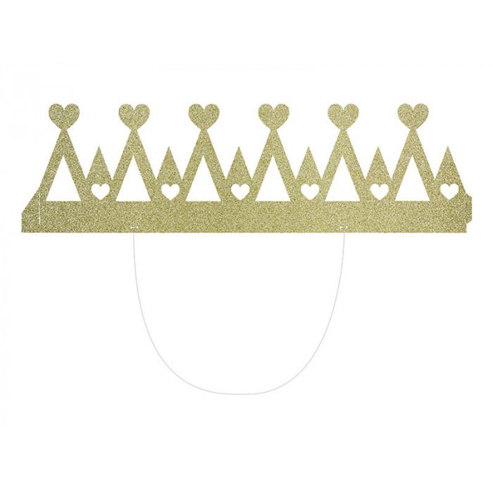 Rozety dekoracyjne, szaroniebieski