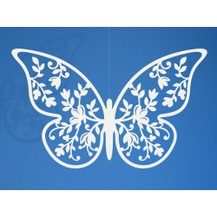 Dekoracje papierowe Motyl, 8 x 5cm