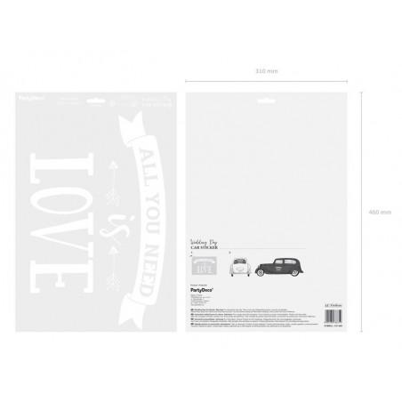 Dekoracje brokatowe Kula, złoty, 2cm