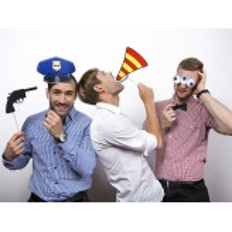 Karteczki na patyczku Policjant