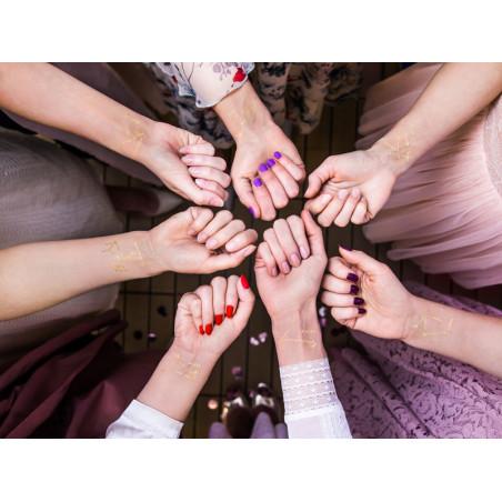 Balony 35 cm, 25th Birthday, Metallic Mix