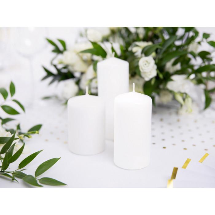 Pompon bibułowy, srebrny, 25cm