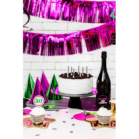 Balon foliowy Cukierek, 45cm, jasny liliowy