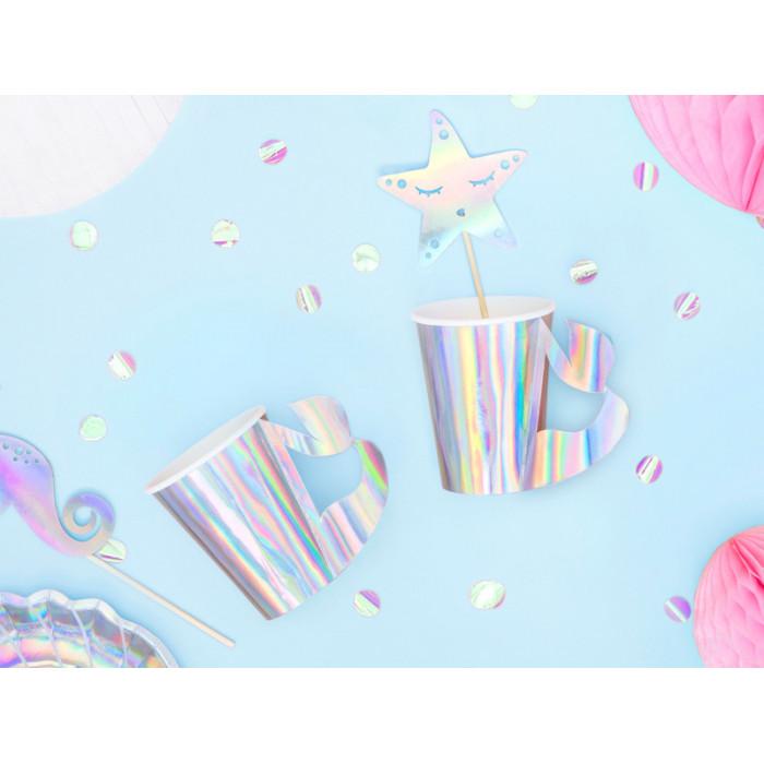 Balon foliowy Cukierek, 45cm, jasny różowy
