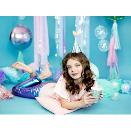Balon foliowy Cukierek, 45cm, jasny żółty