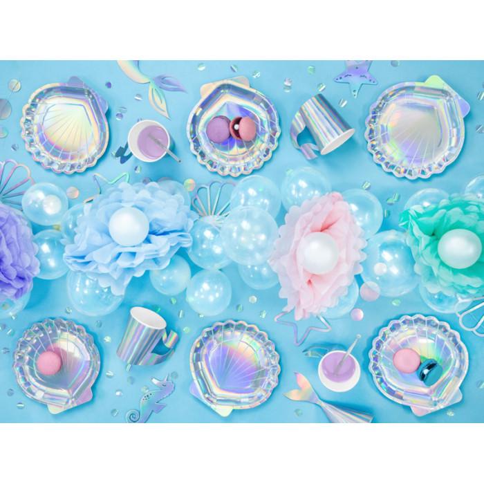 Balon foliowy Cukierek, 45cm, miętowy