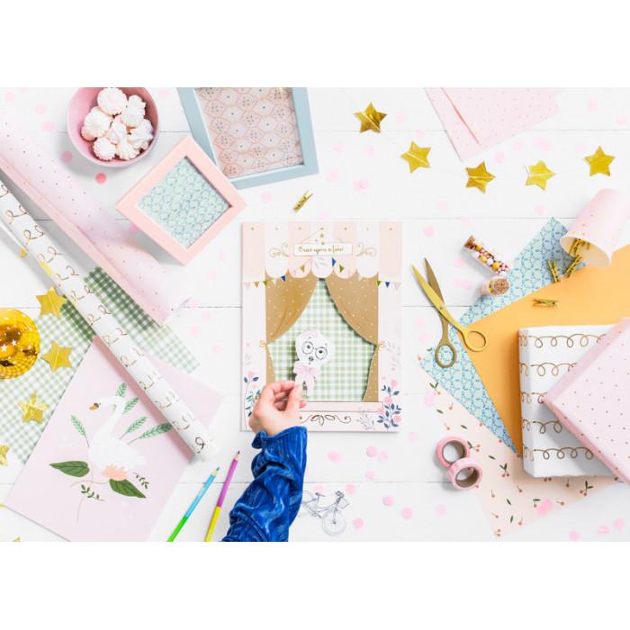 Balon foliowy Gwiazdka, 48cm, złoty