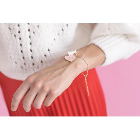 Balon foliowy Kula, 40cm, różowe złoto