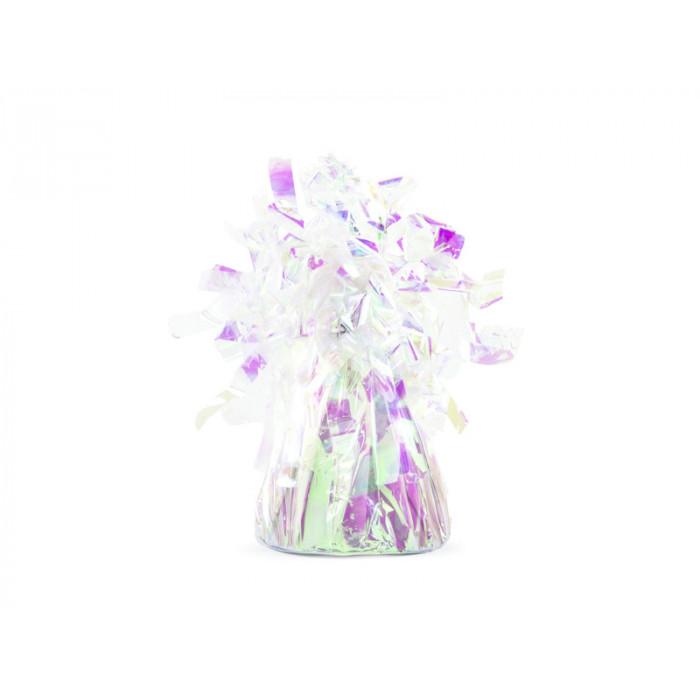 Balon foliowy &, 35cm, srebrny