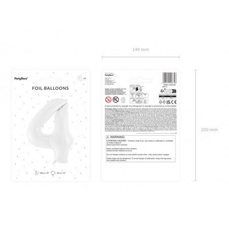 """Balon foliowy Litera """"Z"""", 35cm, złoty"""