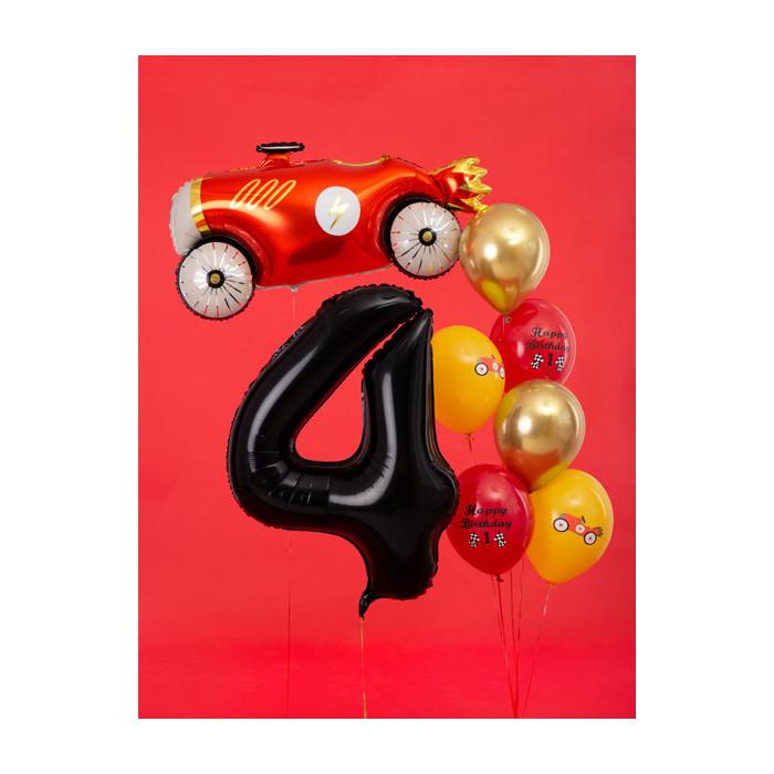 Dekoracje 1, błękit, 5,5cm (1 op. / 4 szt.)