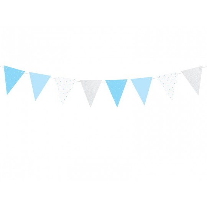Girlanda 1st Birthday - Flagietki, 1,3m