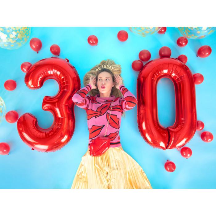 Girlanda bibułowa Rozety, czarny, 3m