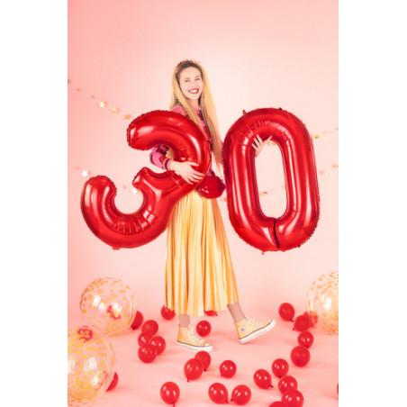 Girlanda bibułowa Rozety, lawenda, 3m