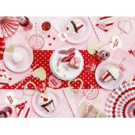 Rozety dekoracyjne Sweet Love, mix (1 op. / 3 szt.)