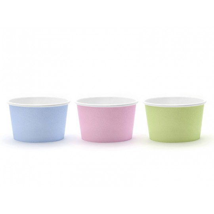 Kubeczki na lody, mix, 170 ml (1 op. / 6 szt.)
