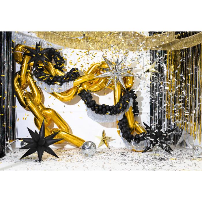 Talerzyki Happy Birthday, mix, 20x20cm (1 op. / 6 szt.)