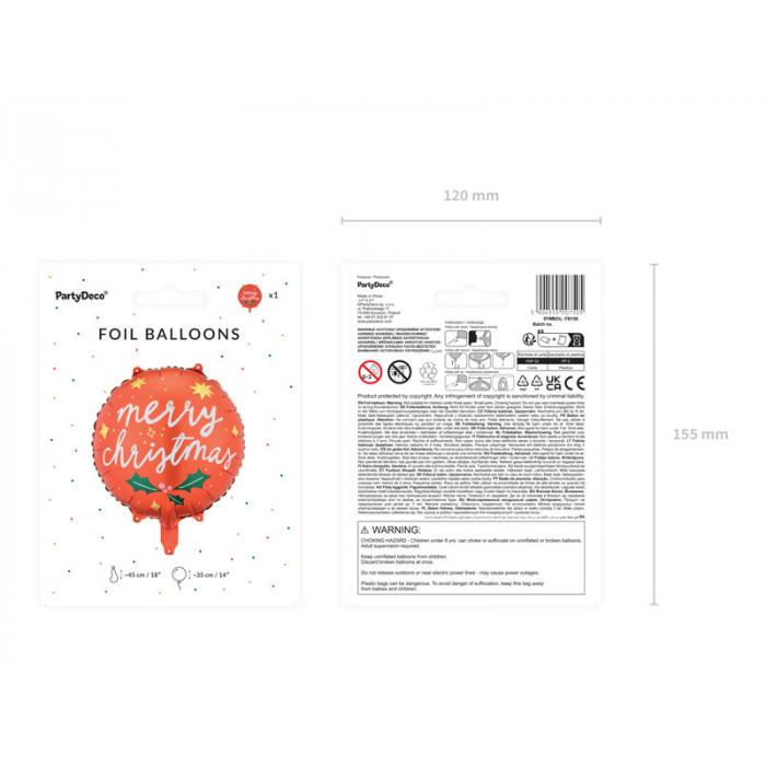 Talerzyki okrągłe, opalizujący, 18 cm (1 op. / 6 szt.)