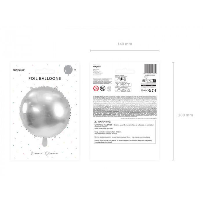 Talerzyki, biały, 18,5 cm (1 op. / 6 szt.)