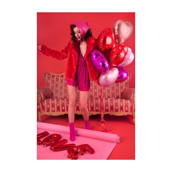 Kurtyna Party, czerwony, 18,5 x 400cm
