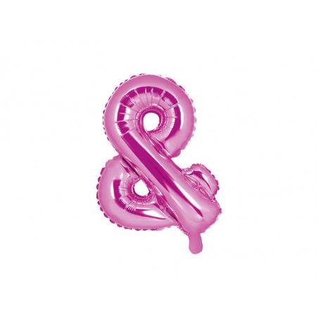 Kula bibułowa, c. różowy, 20cm
