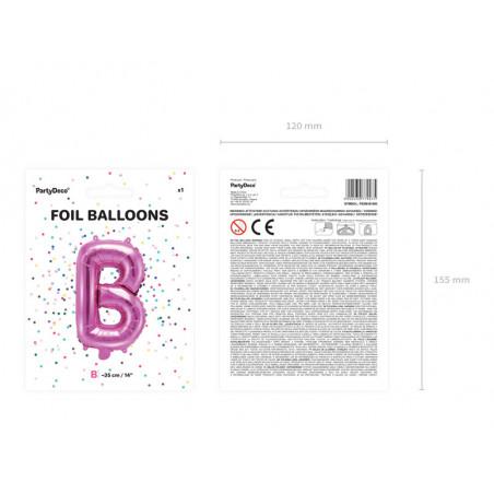 Kula bibułowa, c. różowy, 40cm