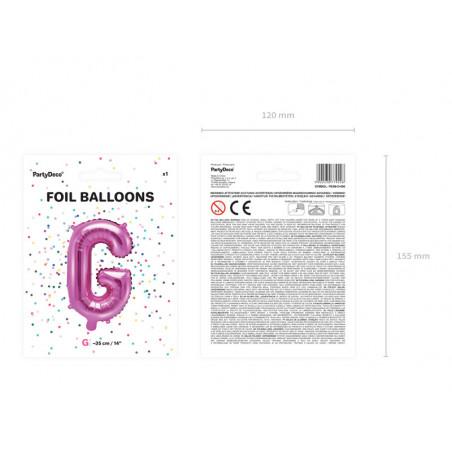 Kula bibułowa, czarny, 30cm