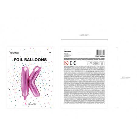 Kula bibułowa, czerwony, 10cm